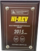 2015 - Hi Rev Gold Pendant Performance Award